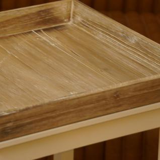 Wohnzimmertisch Beistelltisch Holz Shabby Chic Vintage Home Interiors - Vorschau 3