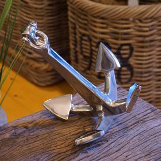 Anker aus Aluminium Meeres Dekoration Maritim Nordsee Sylt
