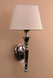 Wandlampe Wandleuchte Chrom Amrum Antik Nostalgie Deko Licht