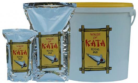 2, 5 ltr Koi Futter Royal Mix House of Kata Premium Koifutter Fischfutter Ausgewogenes