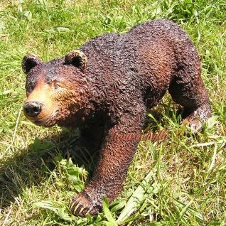Braun Bär Braunbär Figur Statue Skulptur Deko Wildtiere Kanada