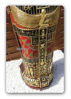Ägyptischer Ägypten Sarkophag Schrank Möbel CD - Vorschau 3