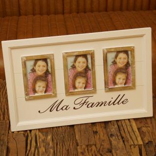 Tisch Bilderrahmen dreier Deko Maritim Shabby Chic Vintage Familie