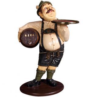 Bayer Oktoberfest Figur Deko Dekoration in Lederhose