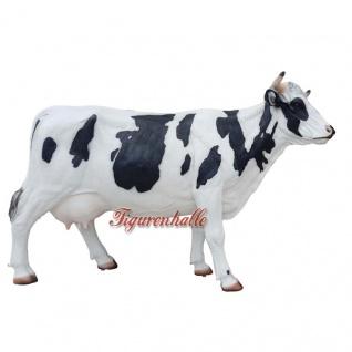 Kuh lebensgroß Figur Statue Skulptur GFK Werbefigur große Ausführung XXL