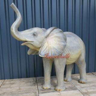 Junger Elefant Deko Dekofigur Figur Statue Skulptur Wildtiere Tiere Afrike Zoo