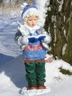 Junge Winterdekoration Atvents Deko Figur Statue - Vorschau 2
