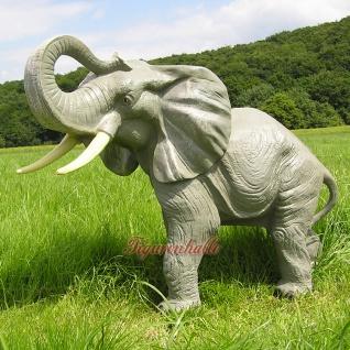 Afrika Elefant als Aufstellfigur oder Gartenfigur