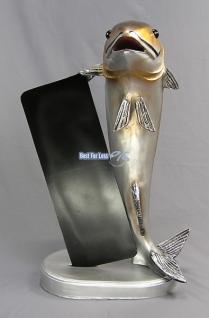 Fisch Werbefigur Werbeaufsteller Laden Deko