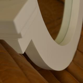 Wandspiegel Fensterspiegel weiß oval Landhausstil Home Interiors - Vorschau 5
