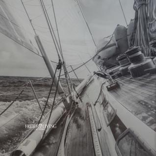 Wandbild Maritim Segelyacht Sportboot Aufnahme gerahmt - Vorschau 2
