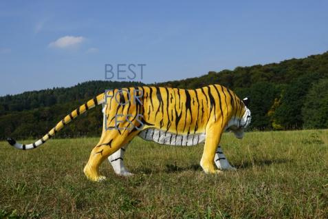 Tiger Dekofigur Lebensgroß Tiga Aufstellfigur - Vorschau 4