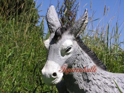 Esel Aufstellfigur für den Garten als Figur Statue - Vorschau 4