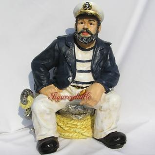 Kapitän Maritime Dekofigur Figur Deko