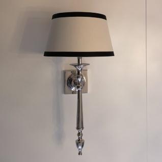 Wandlampe Wandleuchte Chrom Hampton Antik Nostalgie Deko Licht