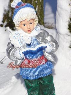 Junge Winterdekoration Atvents Deko Figur Statue - Vorschau 3