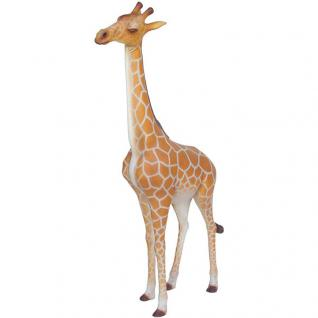 Giraffe Afrika Designer Stück Figur Statue Skulptur
