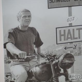 Steve McQueen Wandbild Kunstdruck mit Rahmen Deko - Vorschau 2