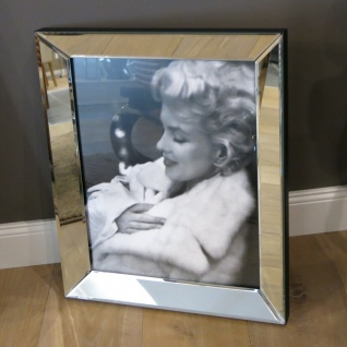 Pelz weiß Kleid Marilyn Monroe Wandbild Kunstdruck int Rahmen Deko