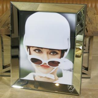 Wandbild Spiegelrahmen Audrey Hepburn How to Steal a Million