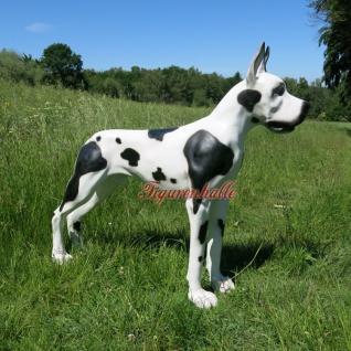 Dogge Englische Deutsche Dänische Figur Statue Skulptur Garten Hunde Fan Deko