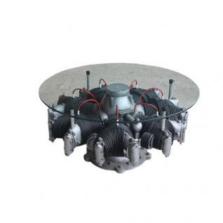 Motor Tisch Sternmotor Deko Flugzeugmotor Wohnzimmertisch Fan Deko
