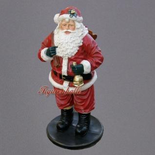 lebensgroß Weihnachtsmann Werbefigur Weihnachten