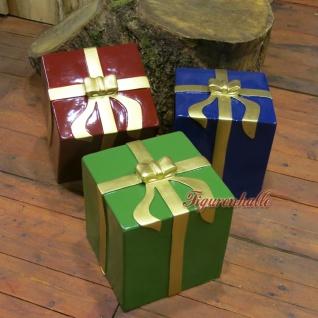 Winter Geschenkpaket Paket Dekomaterial Weihnachten Weihnacht Deko - Vorschau 3