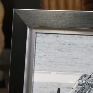Pferderennen Wandbild Horse Racing schwarzer Rahmen Holz Aluminium - Vorschau 4