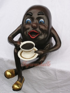 Kaffeebohne Werbefigur o. Dekorationsfigur