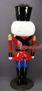 Nussknacker Weihnachtsmann Lebensgroß Figur Statue - Vorschau 4