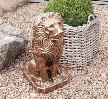 Löwe Dekofigur Bronze Optik - Vorschau 2