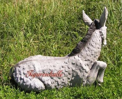 Esel Aufstellfigur für den Garten als Figur Statue - Vorschau 3
