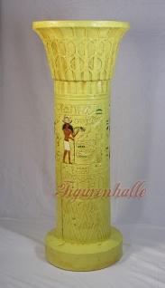 Ägyptische Säule als ausgefallenes Möbelstück