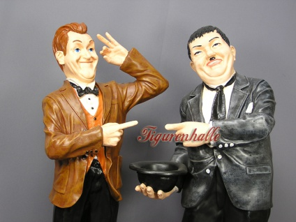Dick und Doof Stan Laurel Oliver Hardy Dekofigur - Vorschau 2