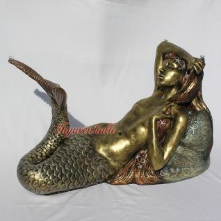 Meerjungfrau als Tisch Couchtisch Figur Maritim