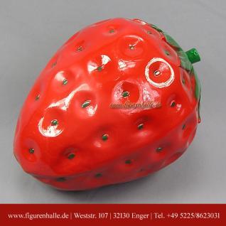 Erdbeere Deko-Obst Werbefigur Obsttheke Bauer Werbung Ladengeschäft