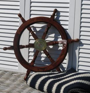 Steuerrad Segelschiff Holz Schiff Boot Modell Deko Maritim - Vorschau 2