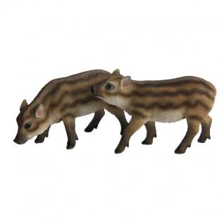 Wildschwein Frischling Eber Sau Garten Dekoration Deko Wald Wiesen Jäger Jagd