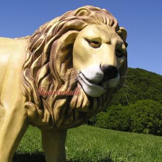 Löwe Dekofigur Afrikanischer Figur Statue Afrika - Vorschau 5