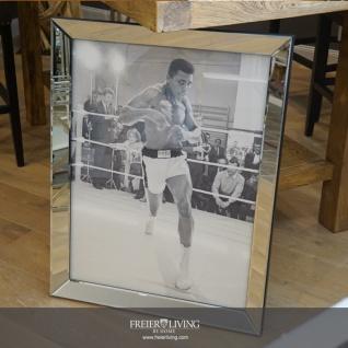 """Muhammad Ali Training """"I'm so fast... Legende eingerahmt Spiegelrahmen Nostalgie"""
