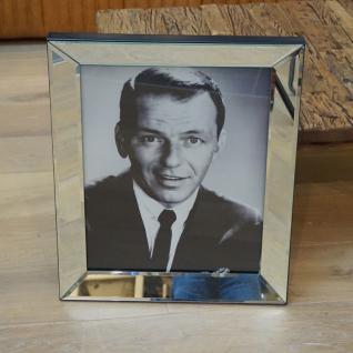 Frank SinatraWandbild Spiegelrahmen Fotografie