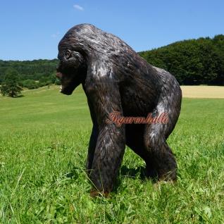 Gorilla Dekofigur Aufstellfigur Affe Afrika 130cm - Vorschau 4