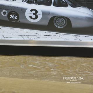 OldtimerMercedes SL Autorennen Wandbild Poster Druck schwarz weiß - Vorschau 3