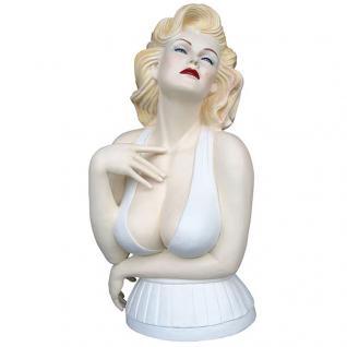 Marilyn Monroe Figur Statue Skulptur Dekoration Deko Stehleuchte Skulptur Lampe