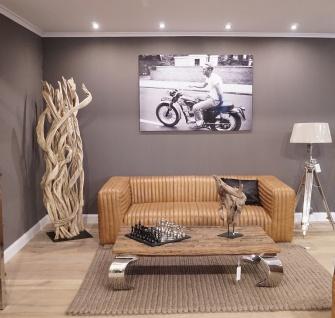 Wandbild Steve McQueen Motorrad BMW Triumph Alu Dibond - Vorschau 5