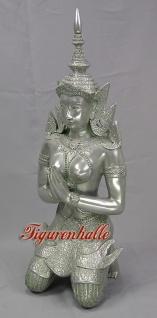 Thai Buddha Figur Statue Skulptur Deko Gartenfigur Dekoration Garten Glücksbringer Glücks