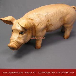 Rosa Schwein als Figur und Statue - Vorschau 2