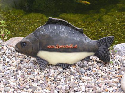 Karpfen Figur Skulptur Dekoration Angler Deko