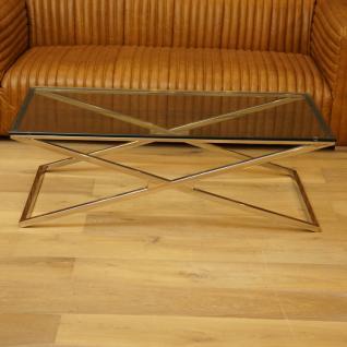 Wohnzimmertisch Metall Glasplatte Glastisch Home Interiors
